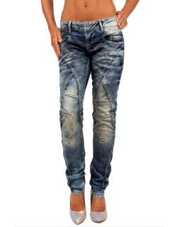 Cipo & Baxx Damen Jeans WD175 W27/L30