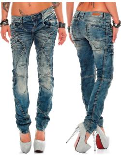 Cipo & Baxx Damen Jeans WD175 W28/L30
