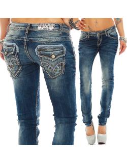 Cipo & Baxx Damen Jeans WD240