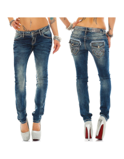Cipo & Baxx Damen Jeans WD240 W25/L32