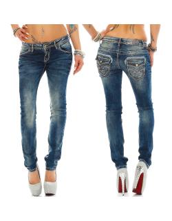 Cipo & Baxx Damen Jeans WD240 W27/L34
