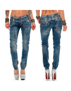 Cipo & Baxx Damen Jeans WD245 W28/L34