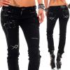 Cipo & Baxx Damen Jeans WD228