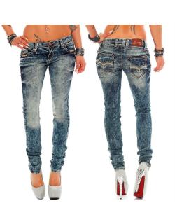 Cipo & Baxx Damen Jeans WD222 W28/L32