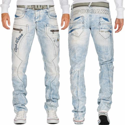 Cipo & Baxx Herren Jeans CD272 W38/L32