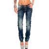Cipo & Baxx Damen Jeans WD256 W27/L32
