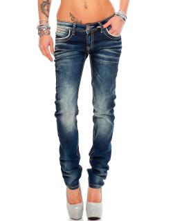 Cipo & Baxx Damen Jeans WD256 W28/L32