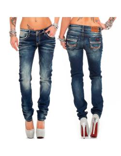 Cipo & Baxx Damen Jeans WD256 W27/L34