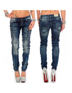 Cipo & Baxx Damen Jeans WD255 W27/L32