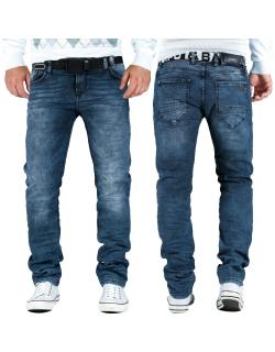 Cipo & Baxx Herren Jeans CD374 indigo W33/L32