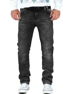 Cipo & Baxx Herren Jeans CD374 anthracite