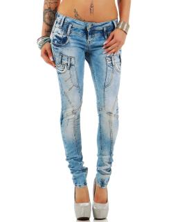 Cipo & Baxx Damen Jeans WD216 W28/L32