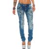 Cipo & Baxx Damen Jeans WD322
