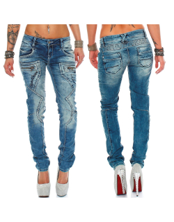 Cipo & Baxx Damen Jeans WD322 W27/L34