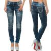 Cipo & Baxx Damen Jeans WD251