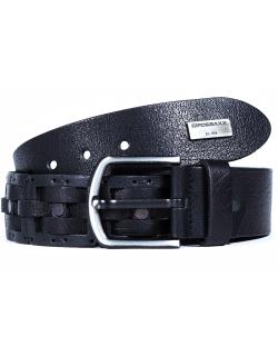 Cipo & Baxx Herren Gürtel CG143 schwarz 110cm x...