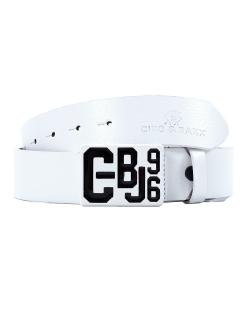 Cipo & Baxx Herren Gürtel CG149 weiß 110cm...