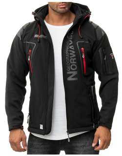 Geographical Norway Herren Jacke Techno Men 007/RPT black L