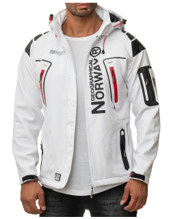 Geographical Norway Herren Jacke Techno Men 007/RPT white XL