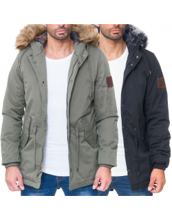Cipo & Baxx Herren Winter Jacke CM150