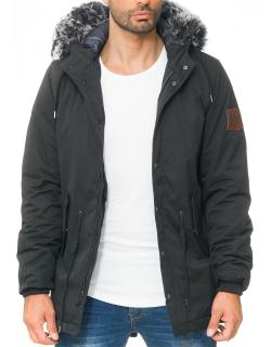 Cipo & Baxx Herren Winter Jacke CM150 Black M