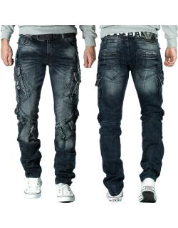 Cipo & Baxx Herren Jeans CD440 Blau W30/L34
