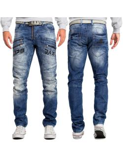 Cipo & Baxx Herren Jeans CD491 Blau W30/L34