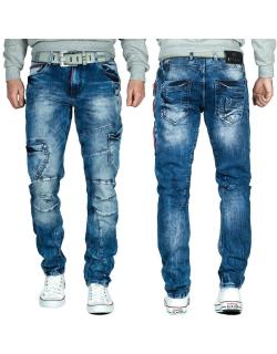 Cipo & Baxx Herren Jeans CD478 Blau W32/L34