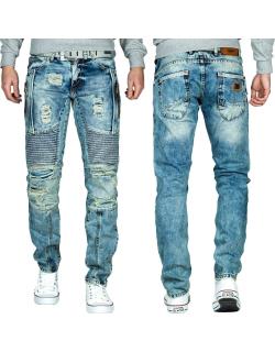 Cipo & Baxx Herren Jeans CD464 Blau W34/L34