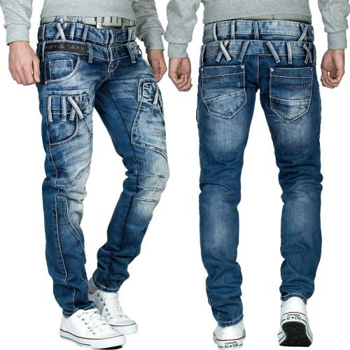 Cipo & Baxx Herren Jeans CD466 Blau W30/L32