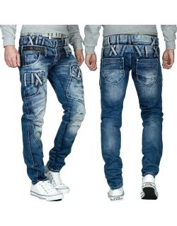 Cipo & Baxx Herren Jeans CD466 Blau W38/L34