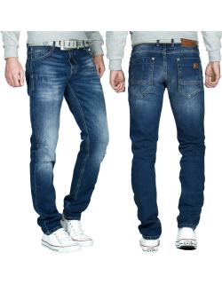 Cipo & Baxx Herren Jeans CD459 Blau W32/L34
