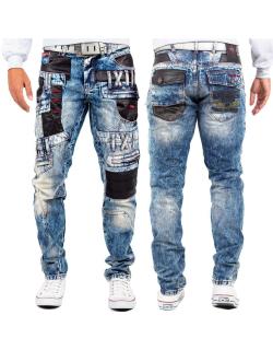 Cipo & Baxx Herren Jeans CD482 Blau W34/L34