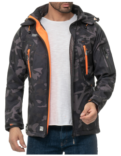 Geographical Norway Herren Jacke Techno Men 007/RPT Camo...
