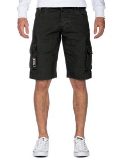 Geographical Norway Herren Shorts Panoplie Men Black XL