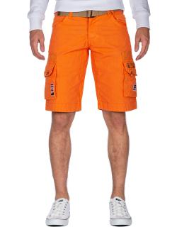 Geographical Norway Herren Shorts Panoplie Men Mandarine S