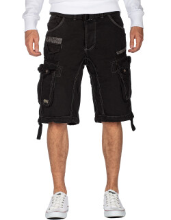 Geographical Norway Herren Shorts Panoramique Basic Black...