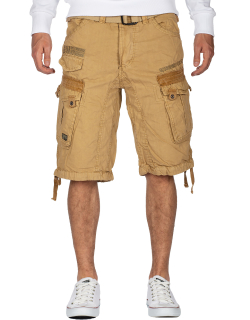 Geographical Norway Herren Shorts Panoramique Basic Beige L