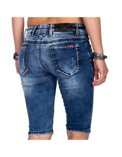 Cipo & Baxx Damen Shorts WK148 Blau W27
