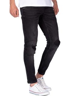 Reichstadt Herren Jeans H-19RS04 (RS204) Schwarz W30/L32