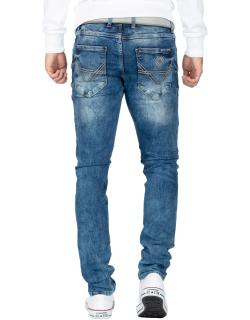 Cipo & Baxx Herren Jeans CD533 Blau W32/L32