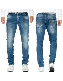 Cipo & Baxx Herren Jeans CD533 Blau W40/L34