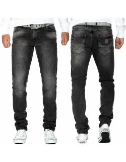 Cipo & Baxx Herren Jeans CD533 Grau W36/L32