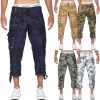 Geographical Norway Herren Shorts Panoramique 3/4 Camo