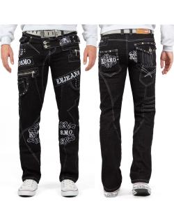 Kosmo Lupo Herren Jeans KM051