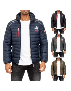 Geographical Norway Herren Steppjacke Brick