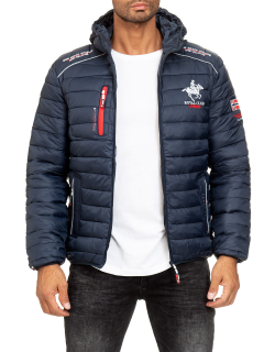 Geographical Norway Herren Steppjacke Brick Navy XXXL