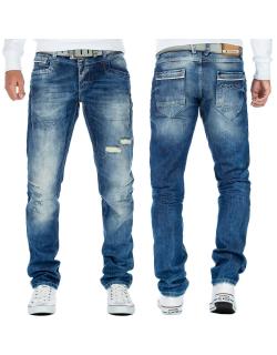 Cipo & Baxx Herren Jeans CDC104BANS Blau W33/L32