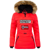 Geographical Norway Damen Windbreaker Jacke Belinda Red XXL