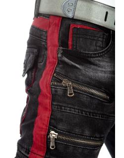 Cipo & Baxx Herren Jeans CD561 Schwarz W32/L32